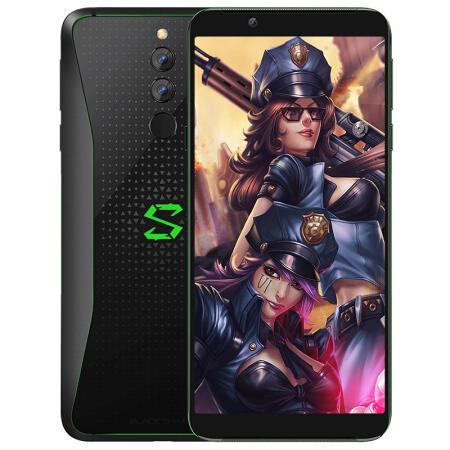 你的不二之选黑鲨 2代 电竞游戏手机 Helo 极夜黑 双卡双?仅售2299.00元