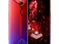 颜值在线拍照出色努比亚红魔3s 电竞游戏手机 骁龙855Plus芯仅售3799.00元