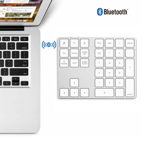 绝妙的体验34键蓝牙数字小键盘