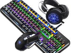 手感出的键盘新盟(Technology) 蒸汽真机械键盘鼠标套仅售179.00元