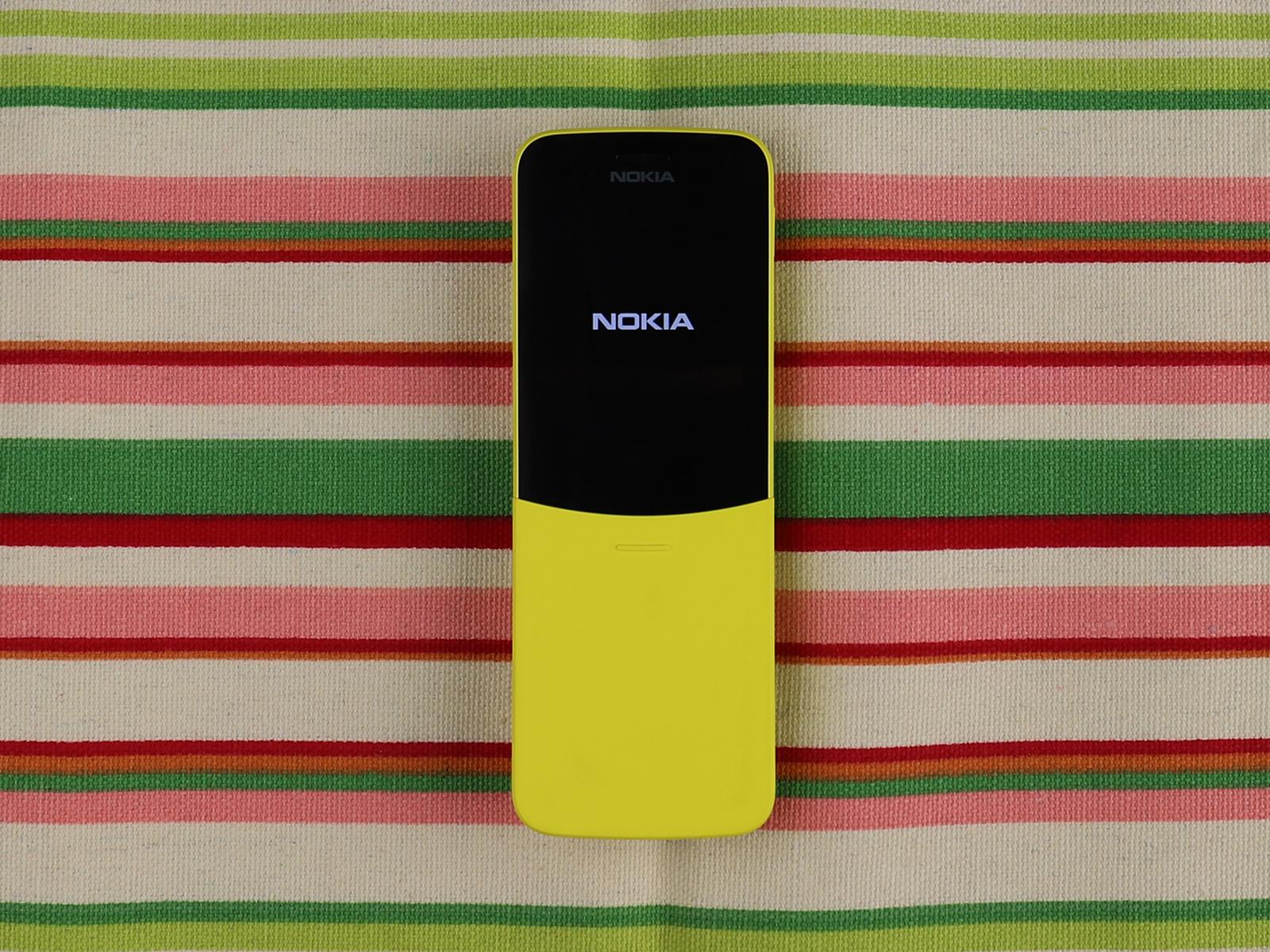 外观个性的功能机 诺基亚8110 4G评测