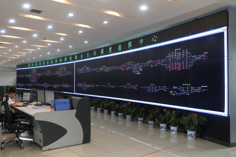 台达为西煤东运铁路通道提供大屏幕解决方案